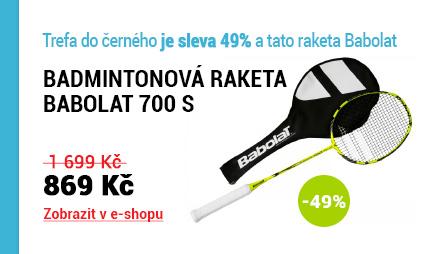 Badmintonová raketa Babolat 700 S