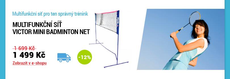 Síť Victor Mini Badminton Net