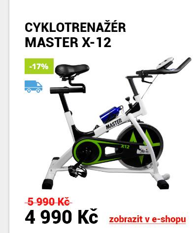 CYKLOTRENAŽÉR MASTER X-12