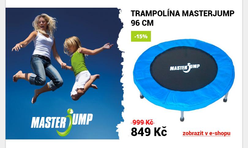 Trampolína Masterjump