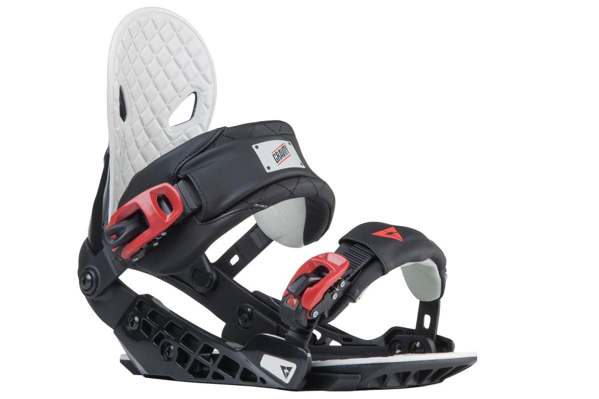 Snowboard vázání GRAVITY G2 - černé - L