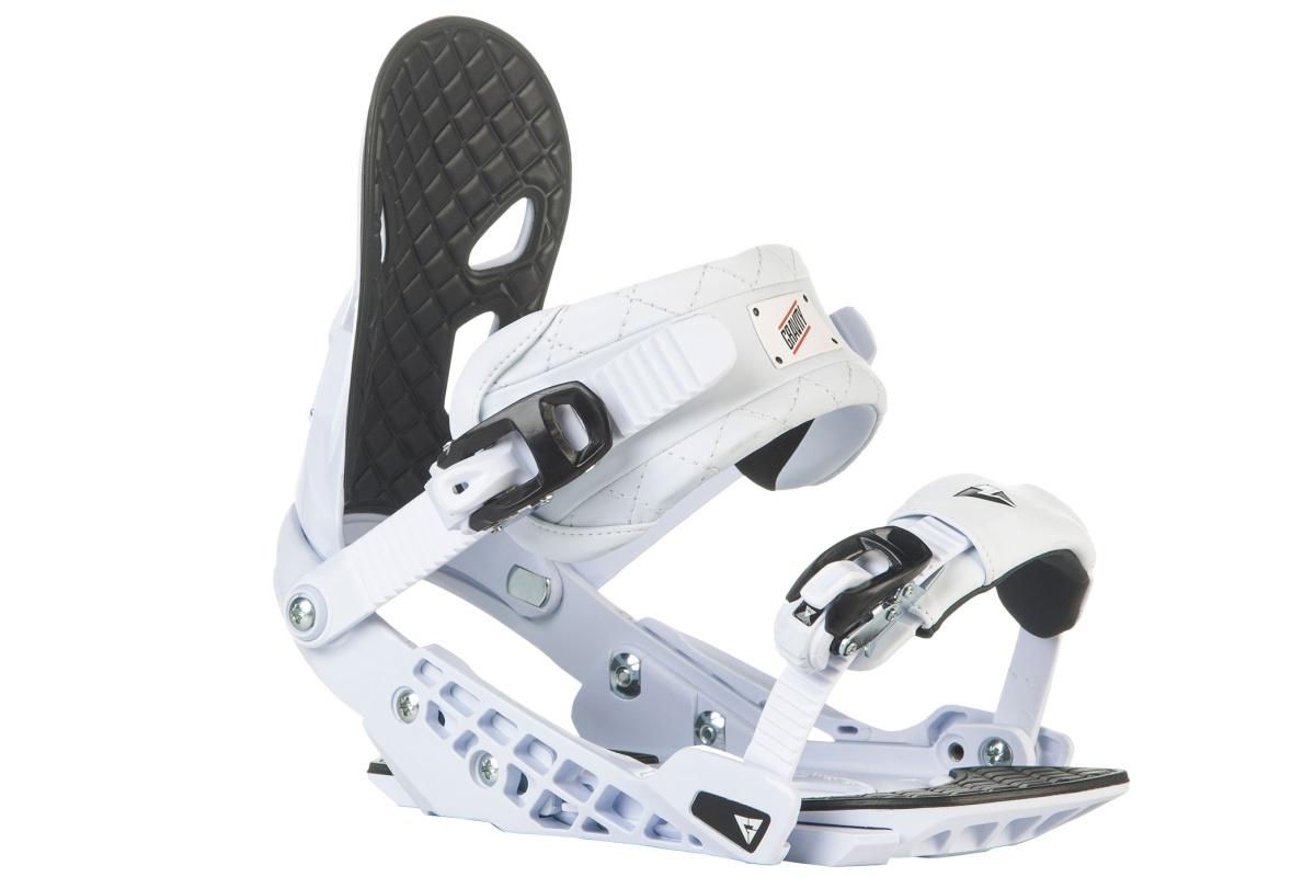 Snowboard vázání GRAVITY G2 - bílé - M