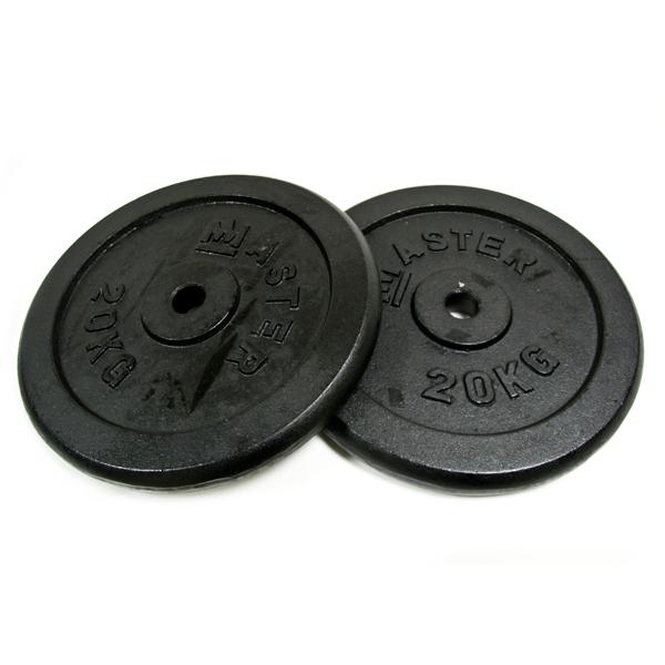Kotouč MASTER 20 kg kov (pár)