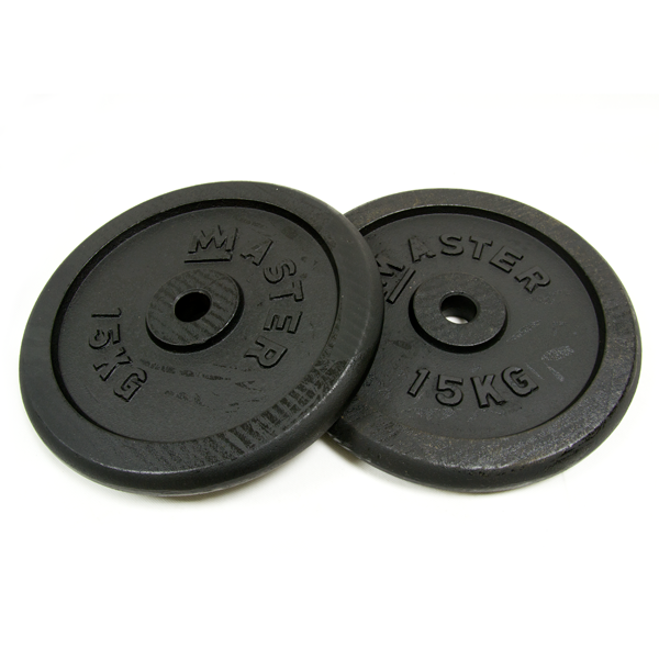 Kotouč MASTER 15 kg kov (pár)