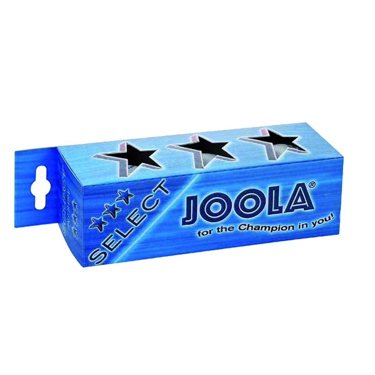 Míčky na stolní tenis JOOLA Select *** - 3ks