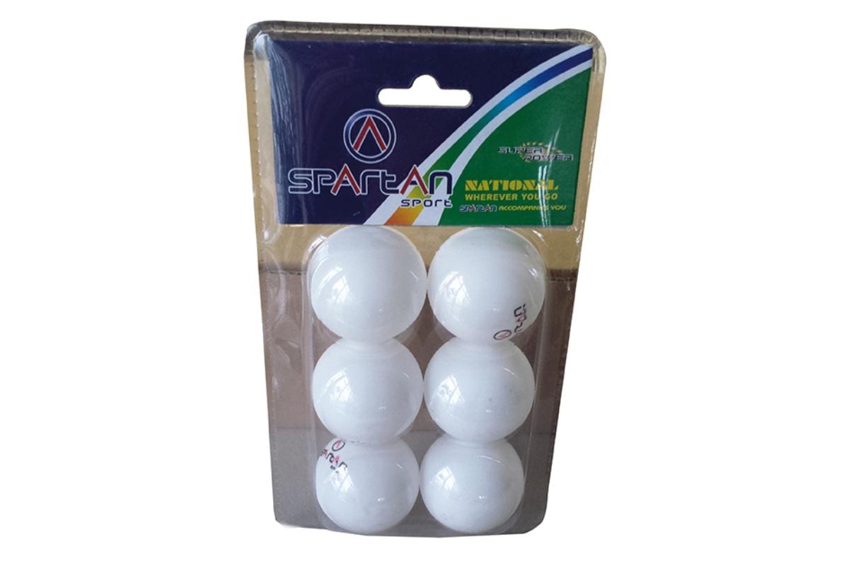 Míčky na stolní tenis SPARTAN TT-Ball - 6ks