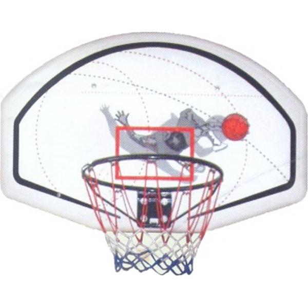 Basketbalový koš s deskou 90 x 60 cm