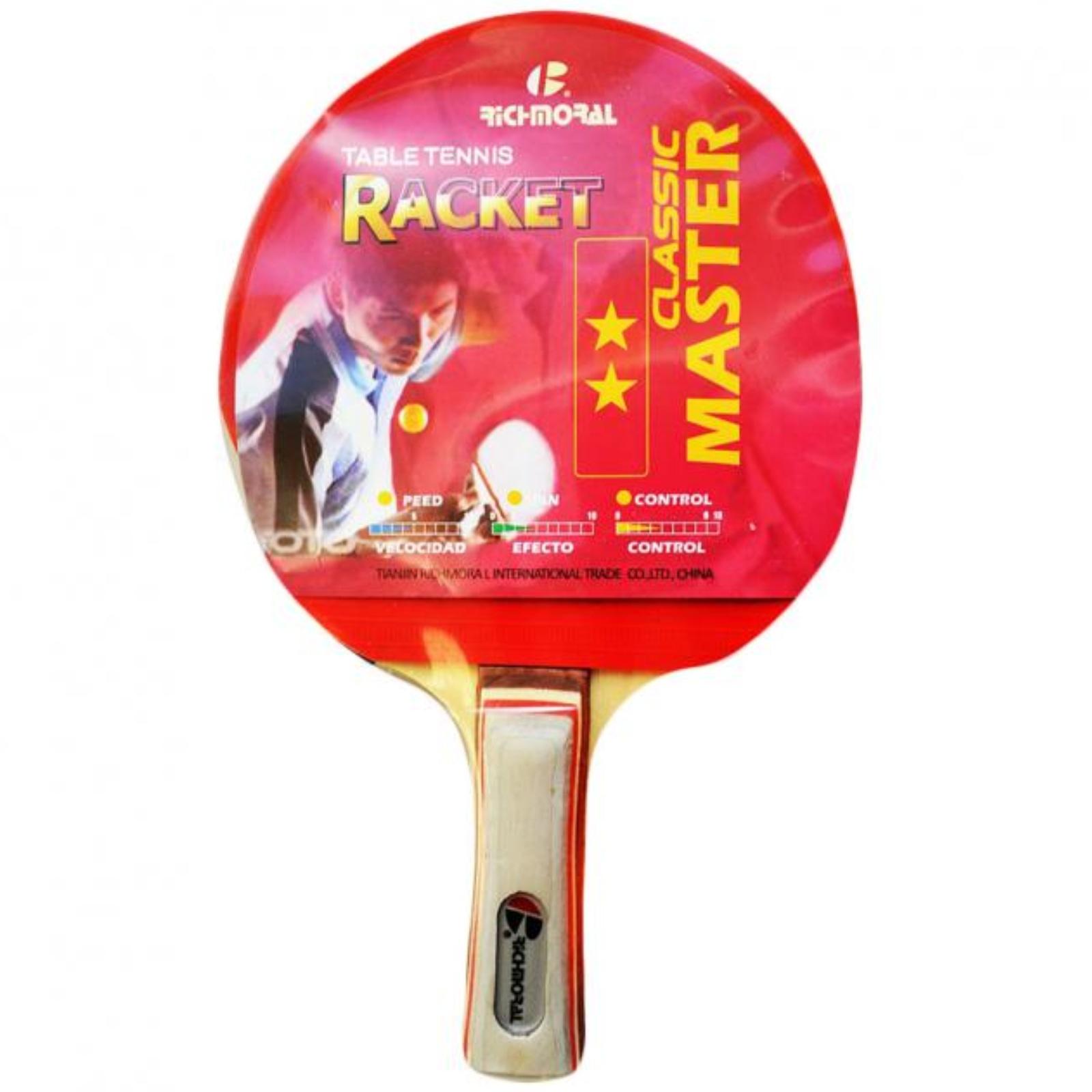 Pálka na stolní tenis RICHMORAL Master ** DB105