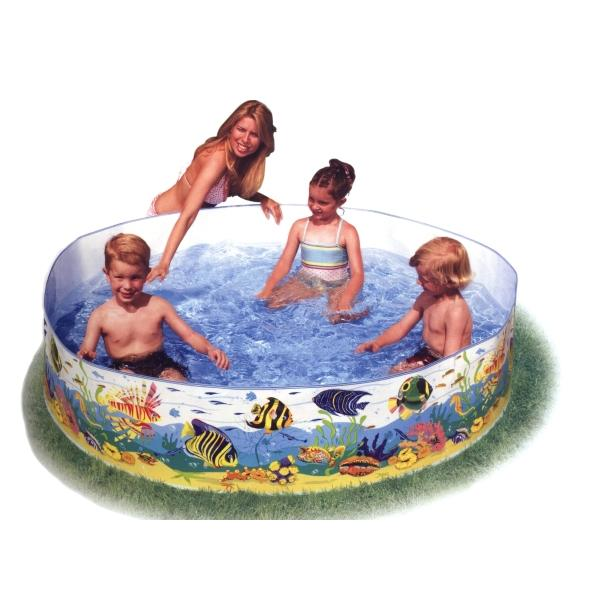 Bazén s pevnou stěnou INTEX Snapset Pool 183 x 38