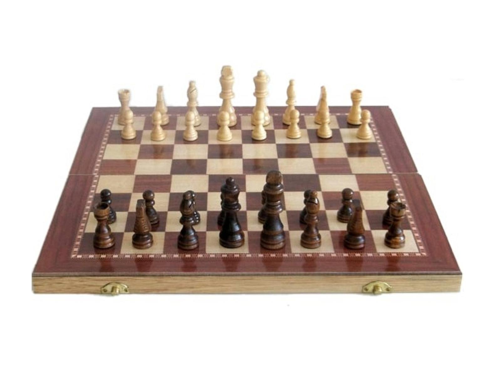 Šachy dřevěné 96 C03