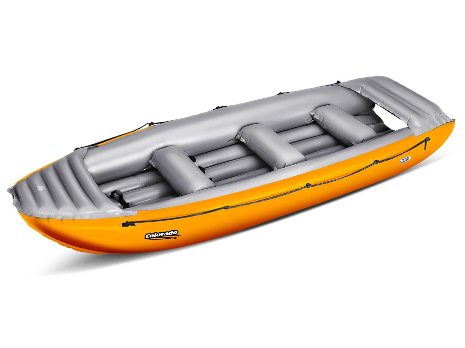 Nafukovací člun GUMOTEX Colorado 450 SET oranžovo-šedý