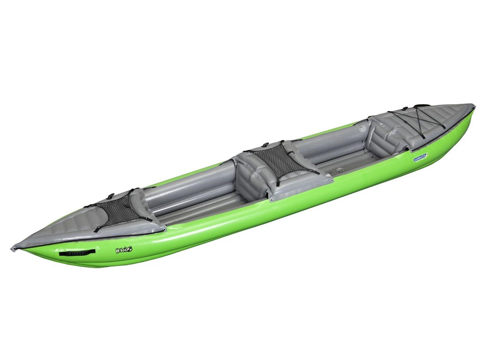 Nafukovací kajak GUMOTEX Helios II - zeleno-šedá