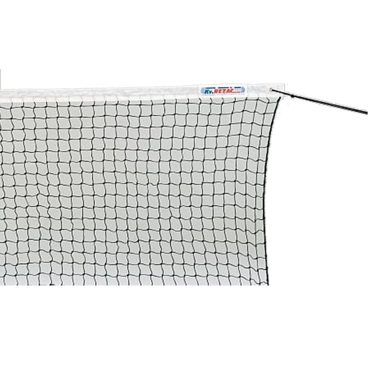 Tenisová síť 2 mm s lankem - rekreační