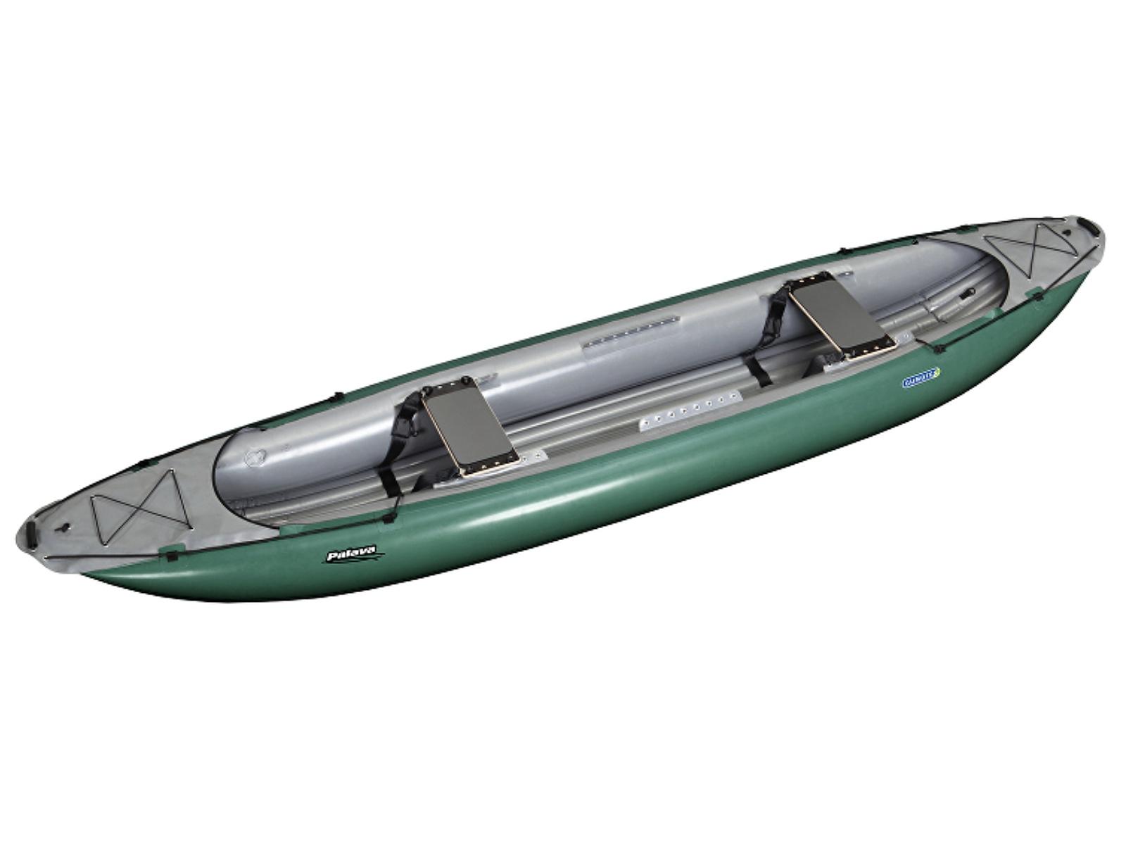 Nafukovací kanoe GUMOTEX Palava zeleno-šedá - SET