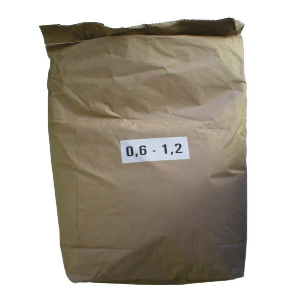 Filtrační písek MASTER 0,6-1,2mm - 25 kg