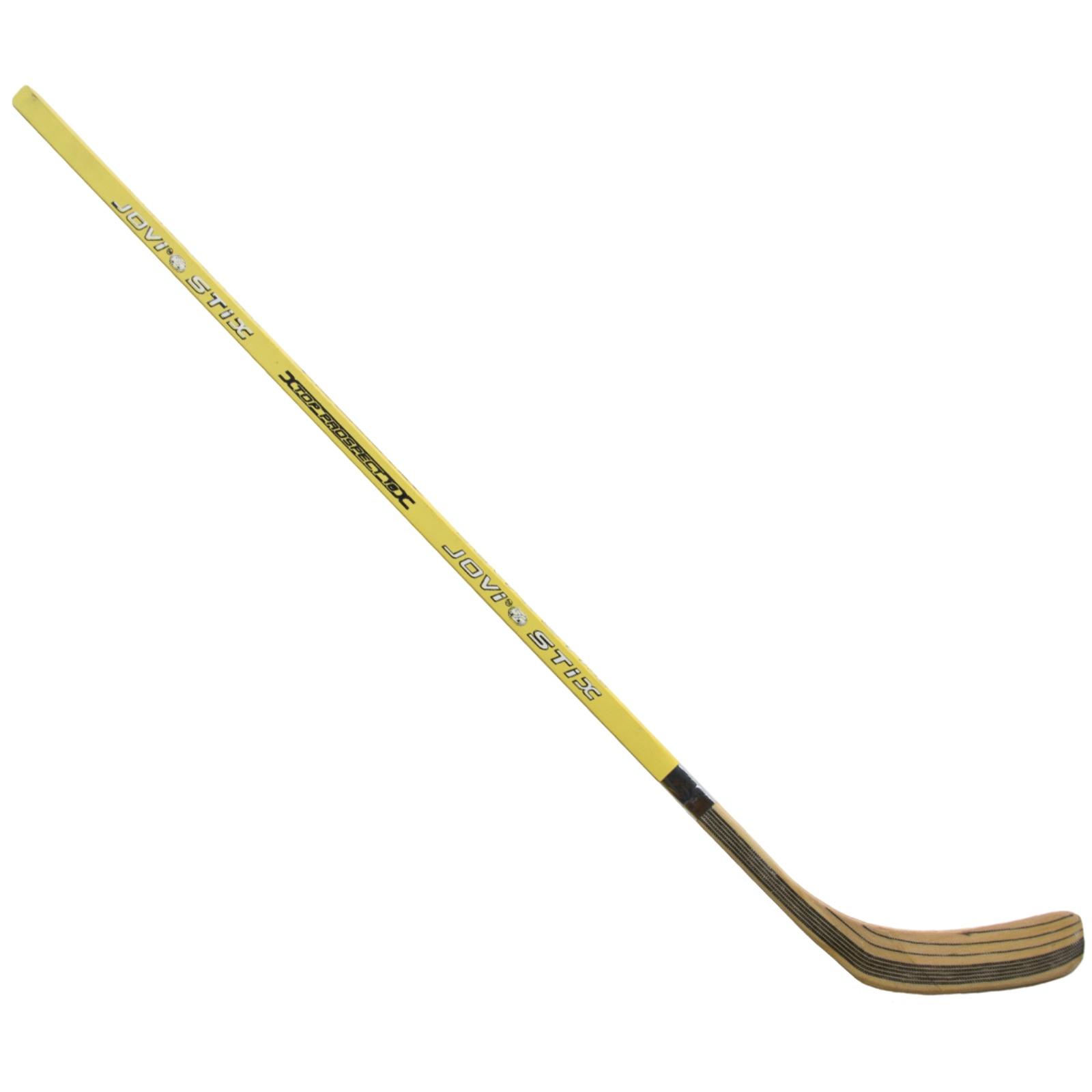 Hokejka LION 3322 - 115 cm levá - žlutá