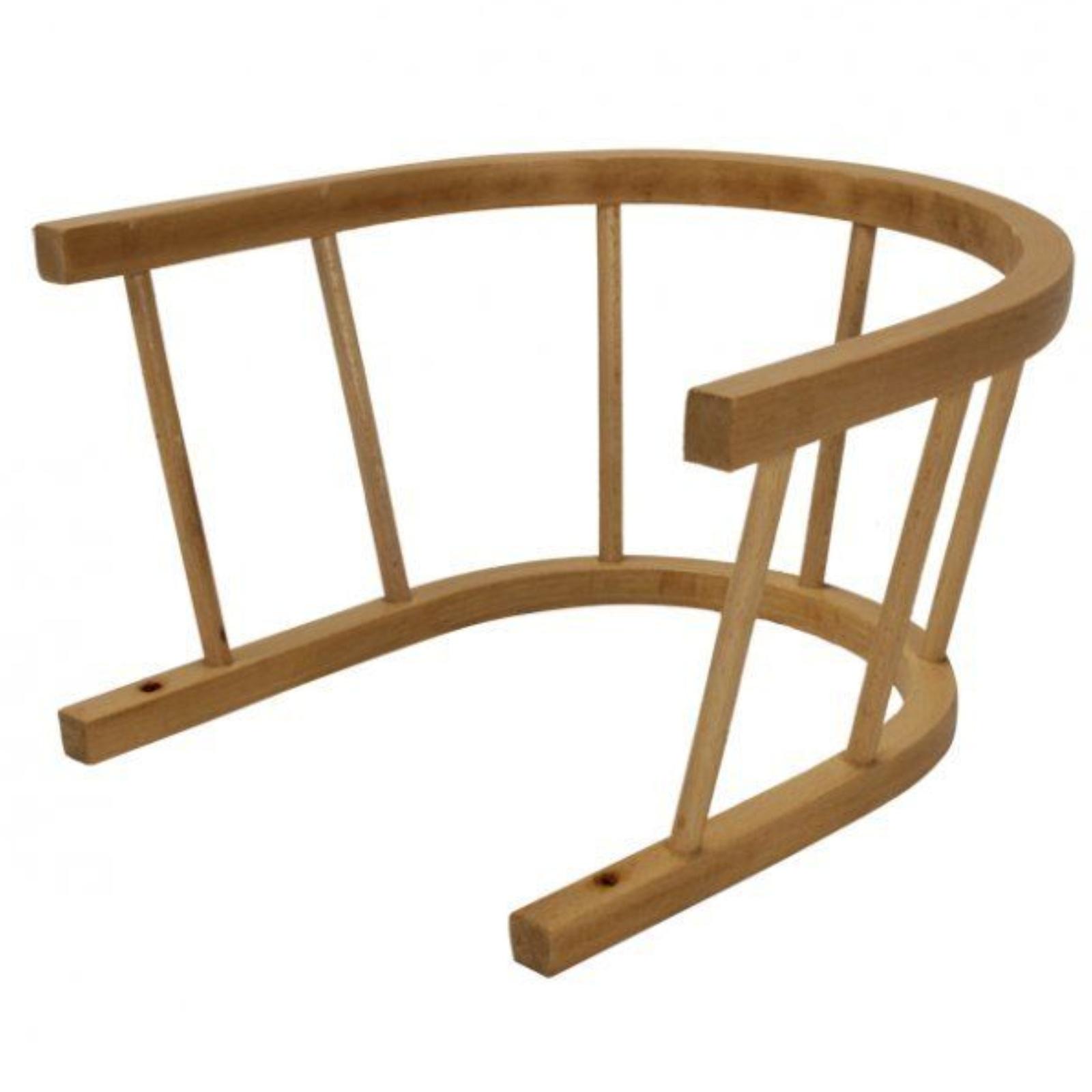 Ohrádka na sáně dřevěná