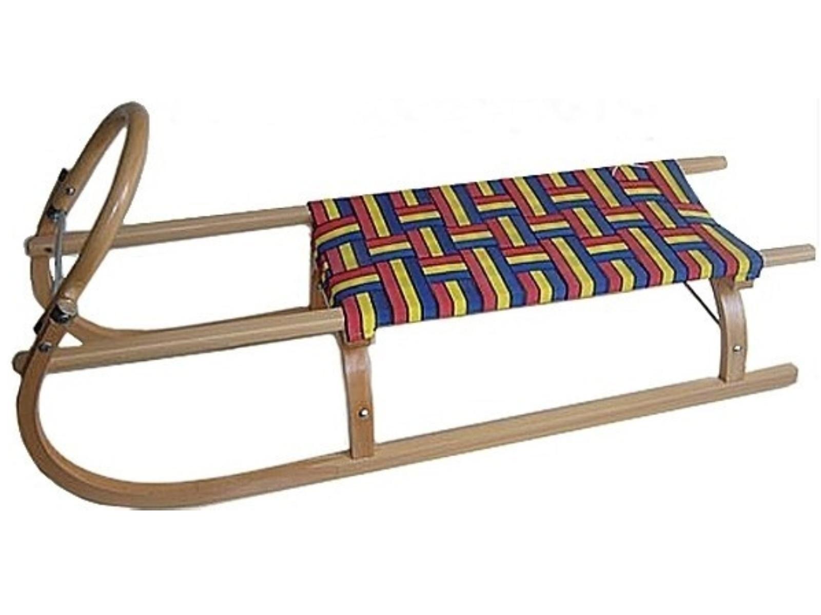 Sáně dřevěné SULOV délka 95 cm