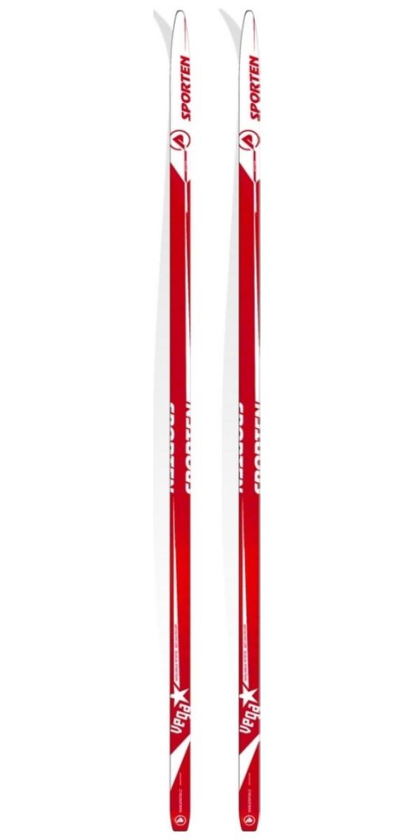 Lyže běžecké SPORTEN Vega - 208 cm - červené