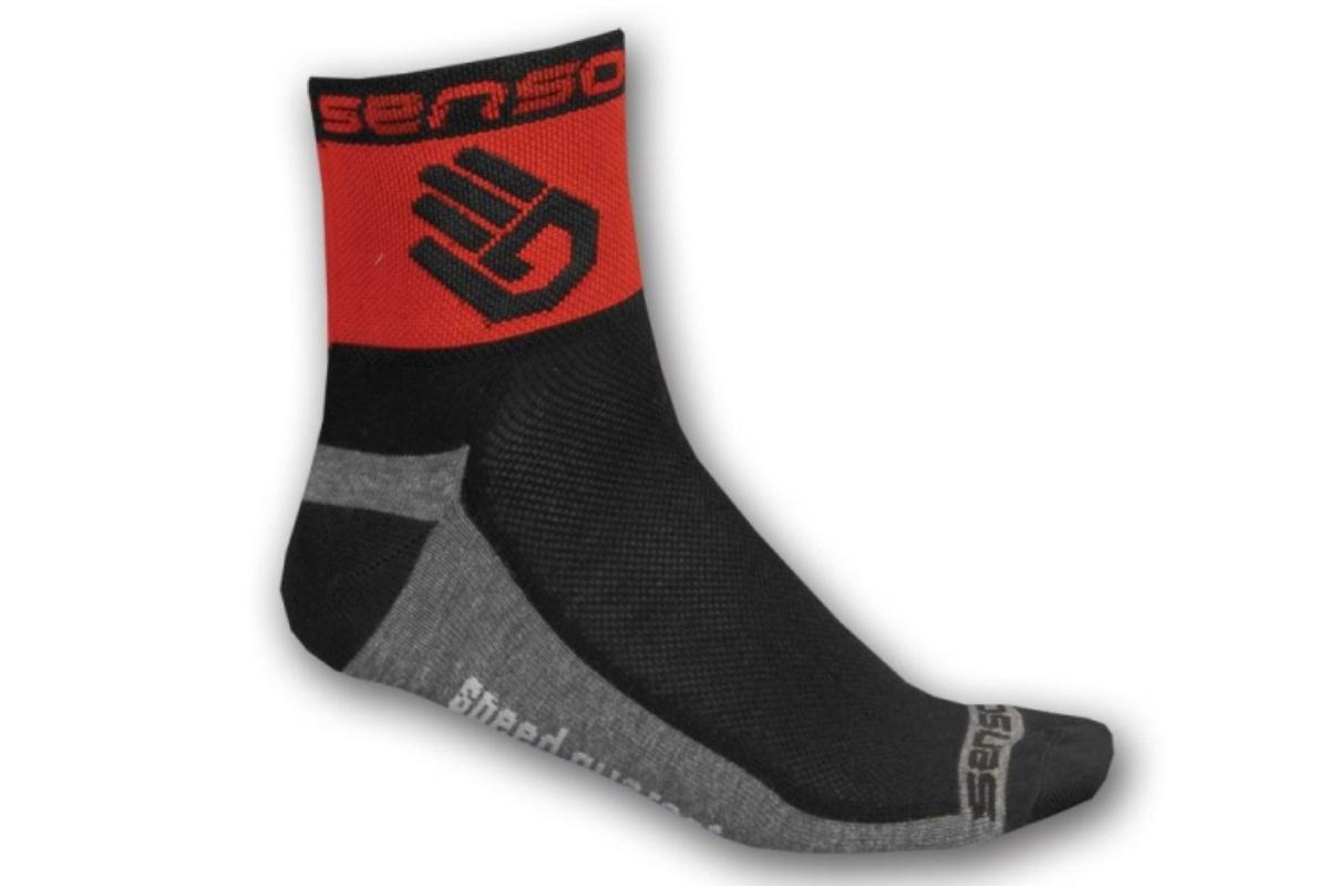 Ponožky SENSOR Race Lite Ruka 9-11 červené