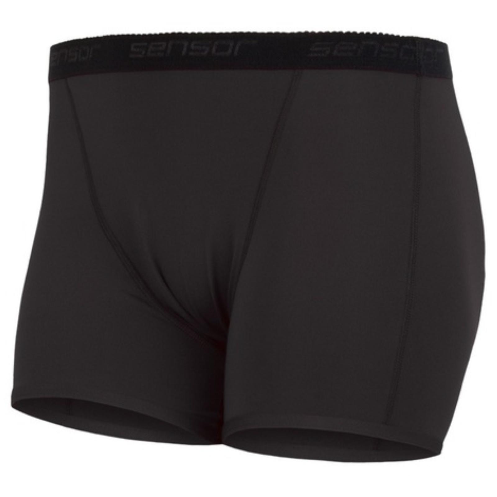 Kalhotky SENSOR Coolmax Fresh černé - vel. XL