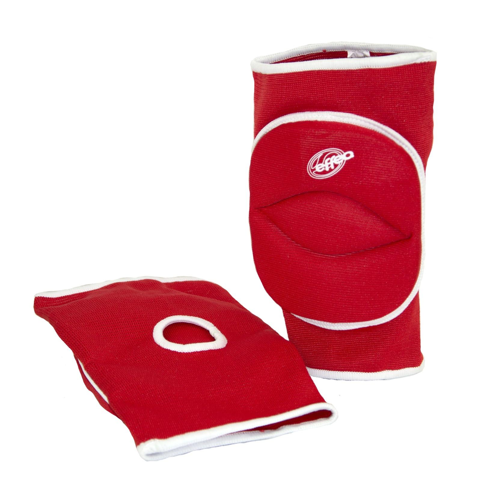 Volejbalové chrániče kolen EFFEA 6644 senior červené