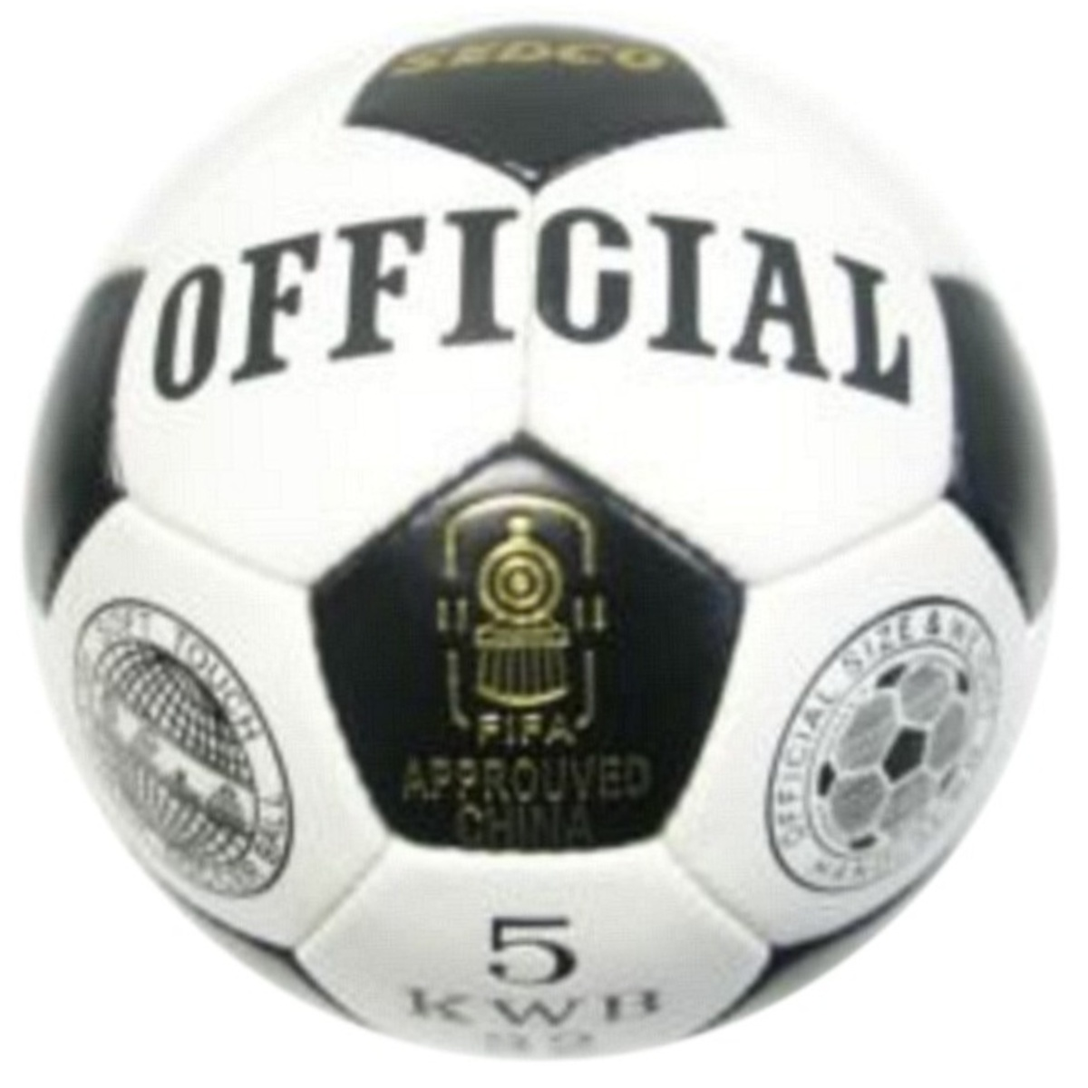 Fotbalový míč SEDCO Official KWB32 - vel. 5