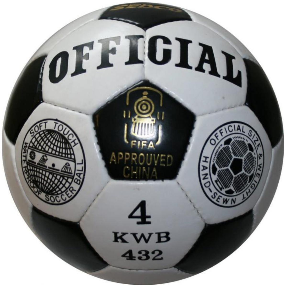 Fotbalový míč SEDCO Official KWB32 - vel. 4