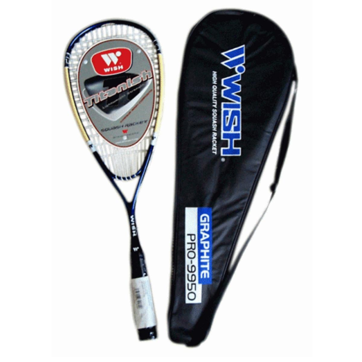 Squashová raketa WISH Graphit 9950