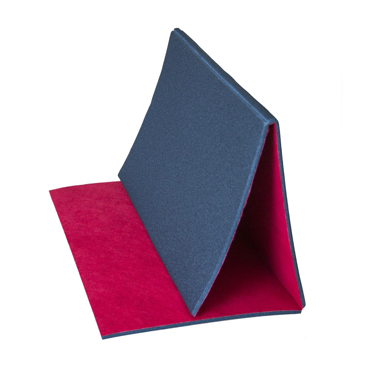 Gymnastická podložka na aerobic 90x52 cm - textilní