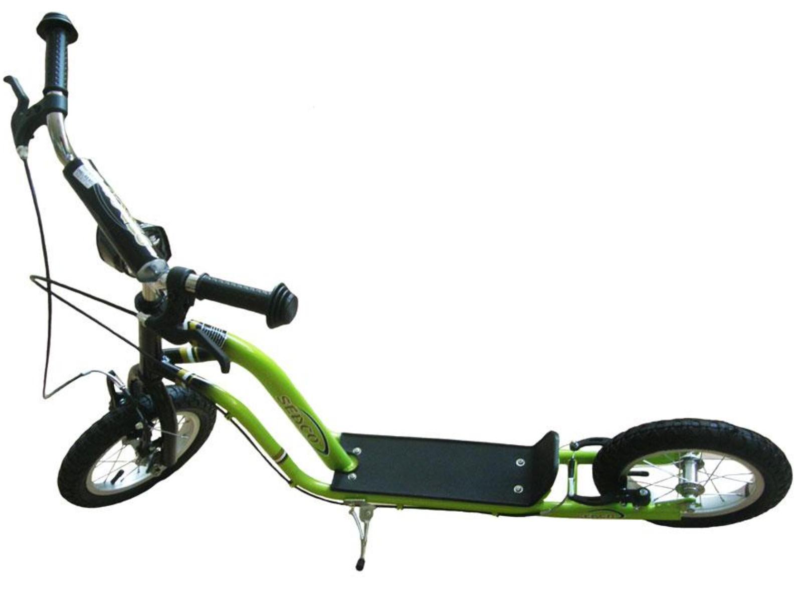 Koloběžka SEDCO City Line Sport Excelence 12 - zelená