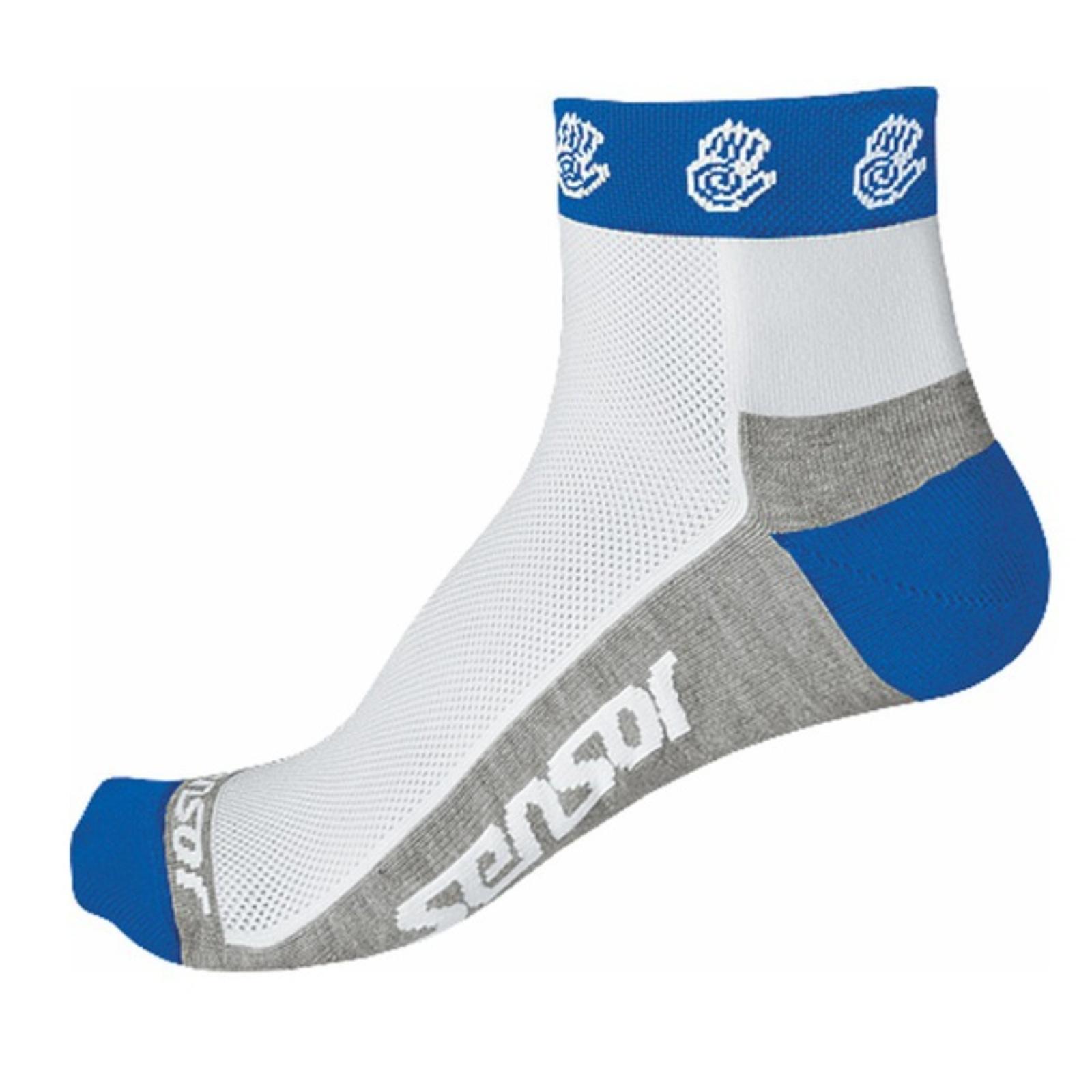 Ponožky SENSOR Race Lite Ručičky modré vel. 6-8