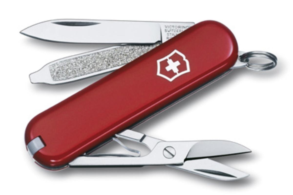 Kapesní nůž VICTORINOX Classic SD - červený