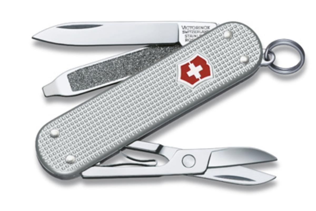 Kapesní nůž VICTORINOX Classic Alox - stříbrný