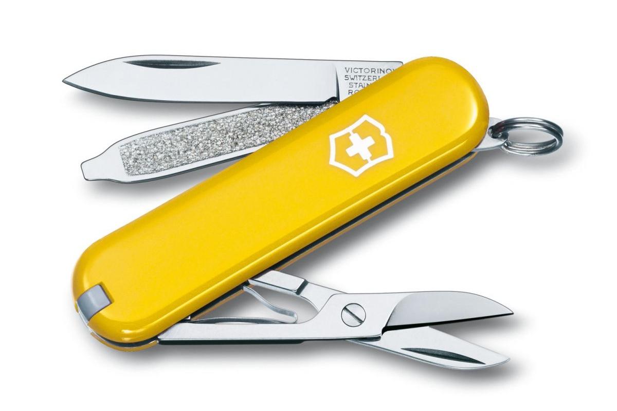 Kapesní nůž VICTORINOX Classic SD - žlutý