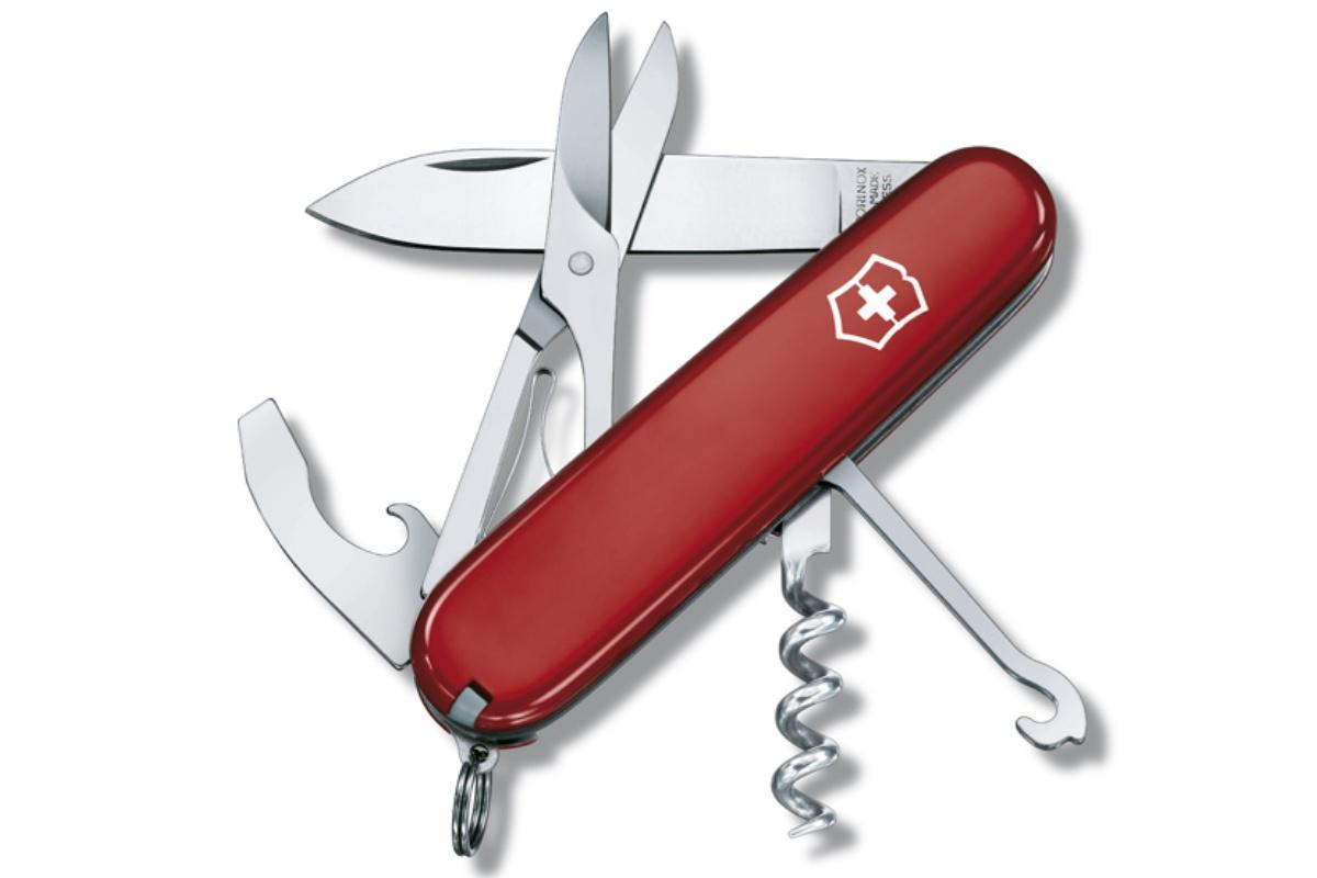 Kapesní nůž VICTORINOX Compact - červený