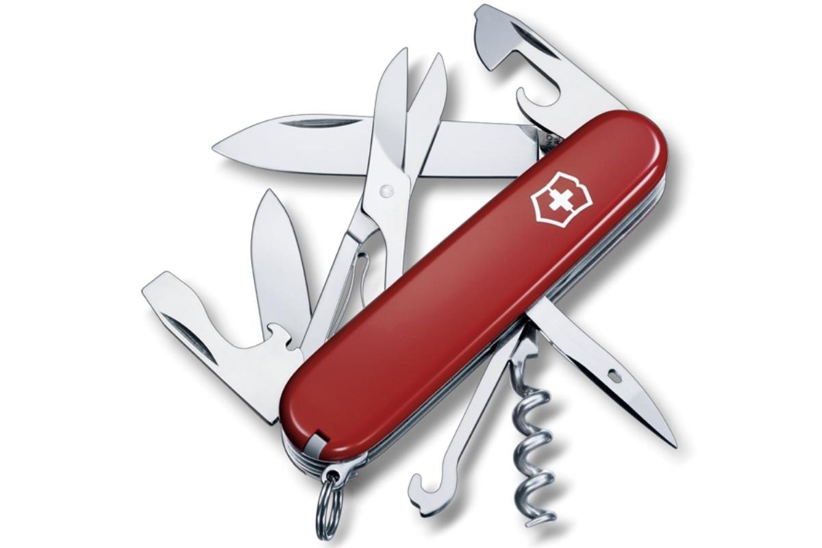 Kapesní nůž VICTORINOX Climber - červený