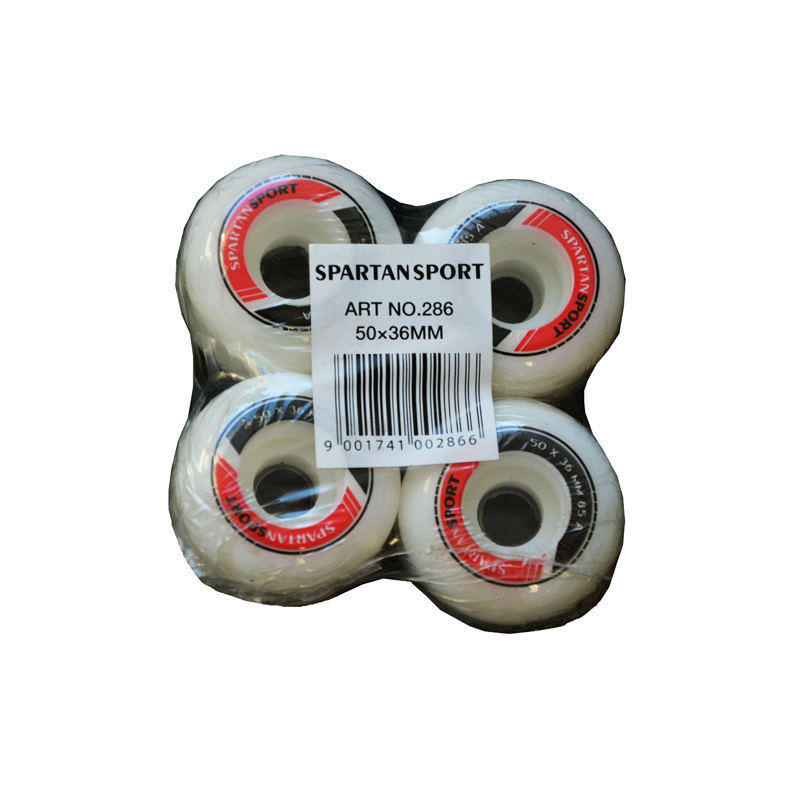 Náhradní kolečka na skateboard 50 x 36 mm