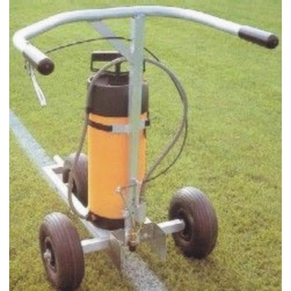 Lajnovačka na fotbalové hriště - latex postřik