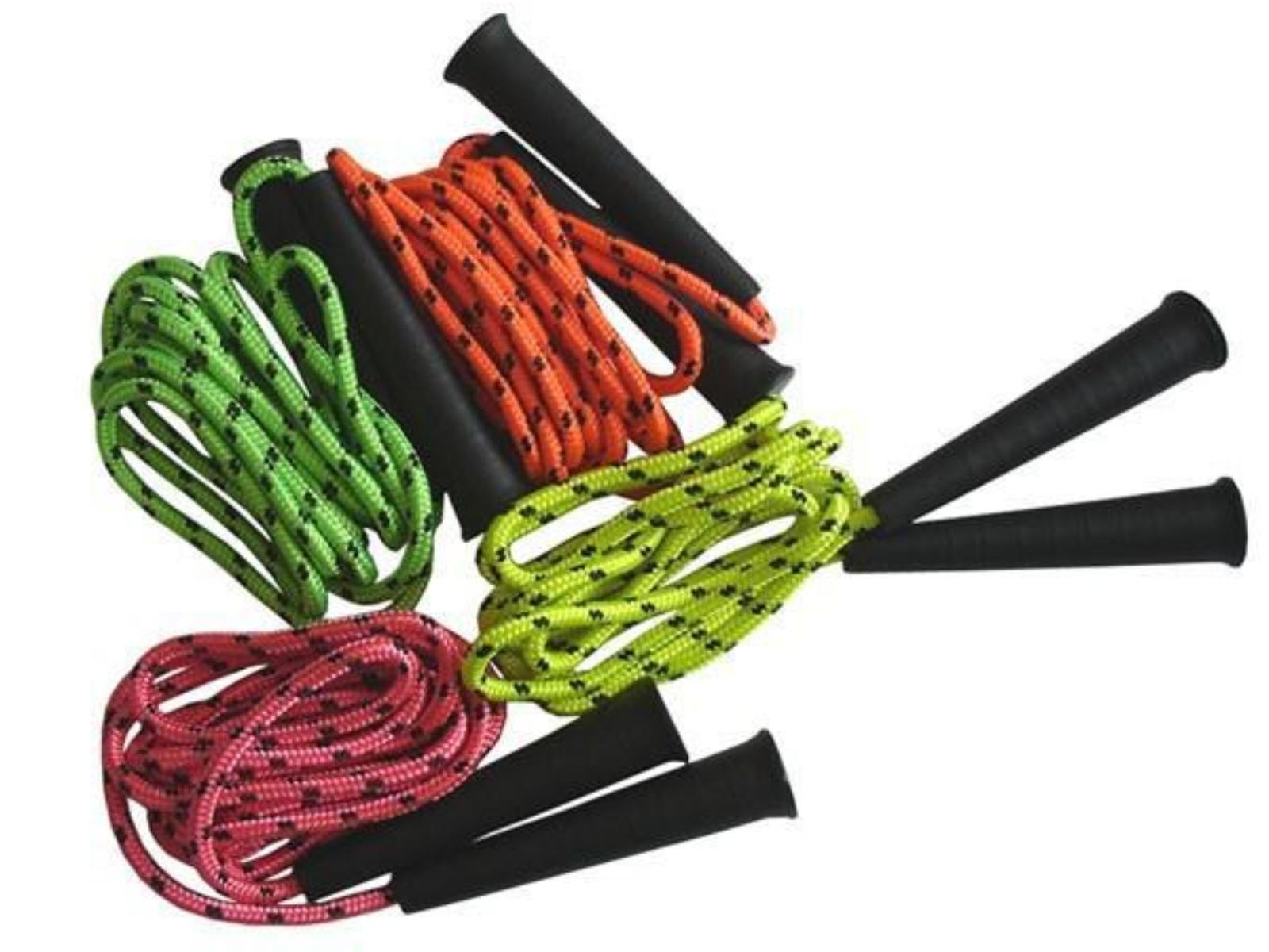 Gymnastické švihadlo FLUO 3 m - zelené