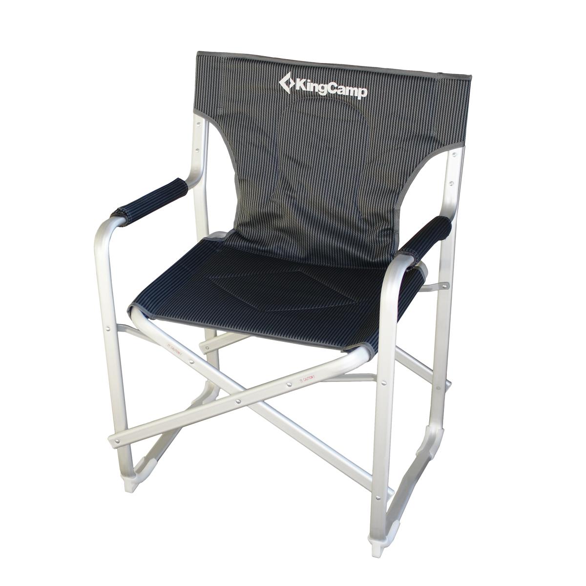 Campingová skládací židle s opěrkami Boss