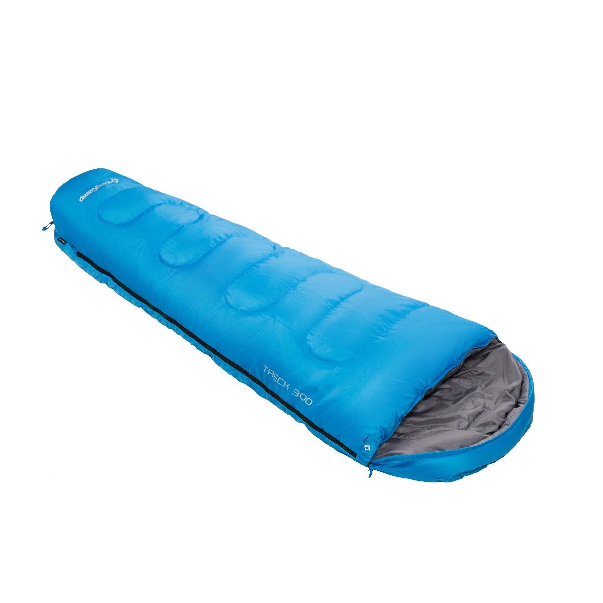 Spací pytel KING CAMP Trek 300 modrý - levý zip
