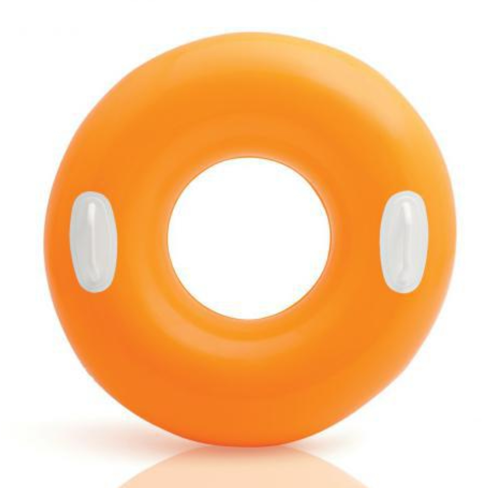 Nafukovací kruh s držadlem 76 cm - oranžový