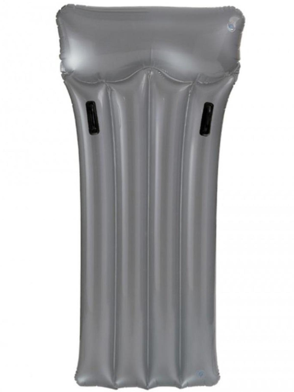 Nafukovací lehátko INTEX Deluxe s držadly 188 x 89 cm