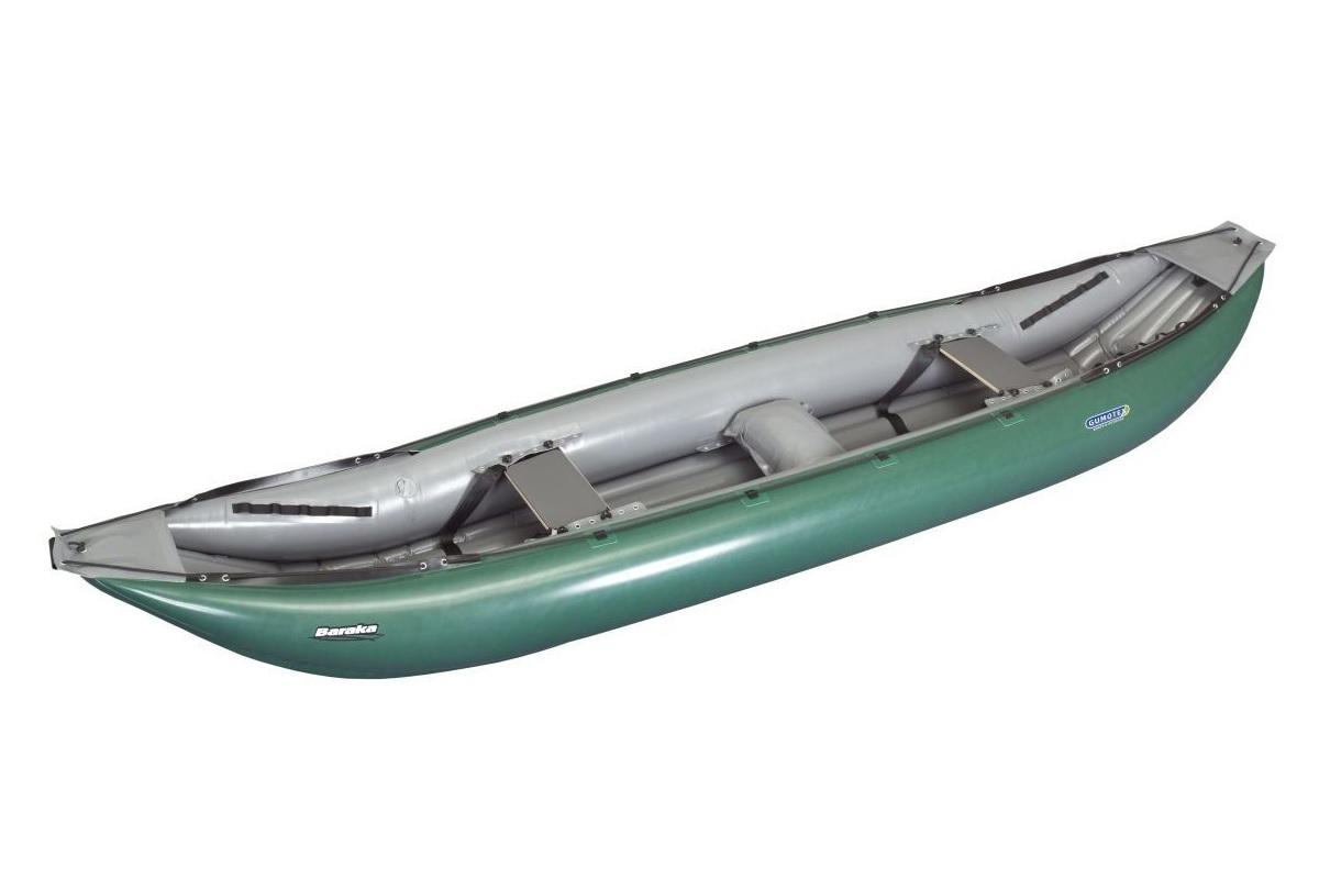 Nafukovací kanoe GUMOTEX Baraka zeleno-šedá