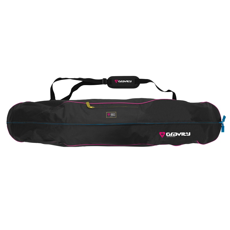 Obal na snowboard GRAVITY Rainbow černý - vel. 160 cm