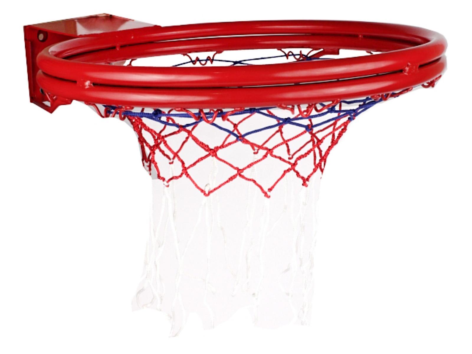 Basketbalová obroučka Korb, se síťkou, odpružená