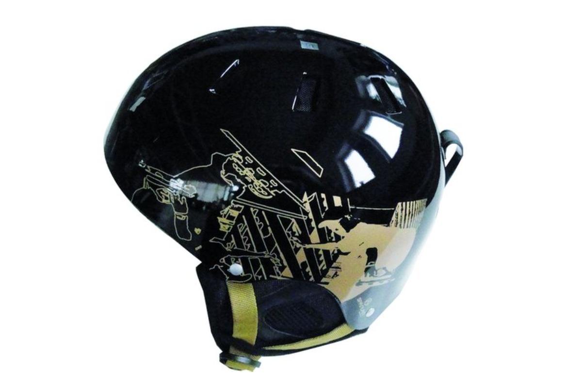 Lyžařská přilba SPARTAN Snow helm L - černá