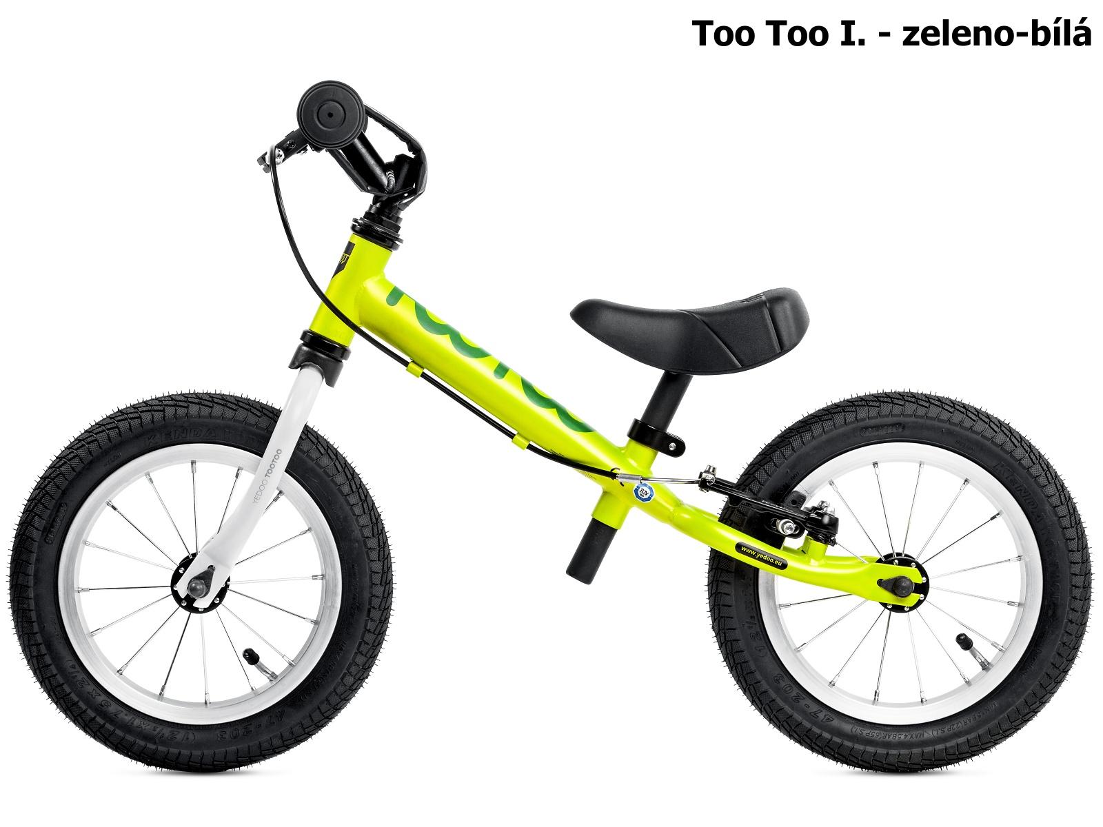 Dětské odrážedlo YEDOO Too Too I. - zeleno-bílé