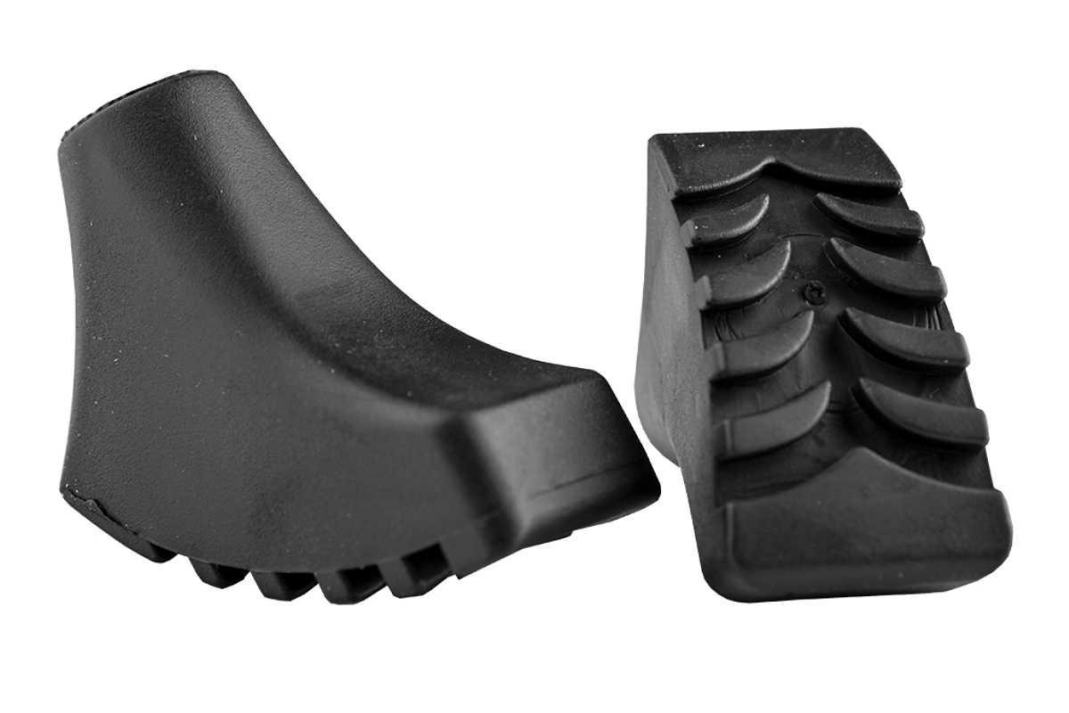 Botičky SPOKEY Callous černé, 2ks, pro Nordic Walking hole
